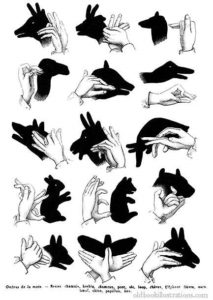 Shadow Puppets - Exercise your hand - fine Motor