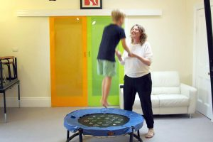 Motor Skills - Occupational Therapist - Johanna deKort Adelaide Night and Day Family Therapy - Vuly Trampoline